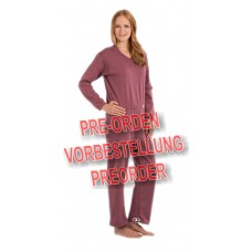 Suprima 4671 - Pflegeoverall BW/Polyester, lang, Bein-RV S-XXL