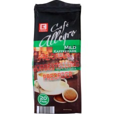 K-CLASSIC - Cafe Allegro Mild 20 Pads Kaffee 144g