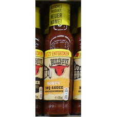 Bulls-Eye / Longhorn - Honey BBQ Sauce 235ml (24-48h Lieferzeit)