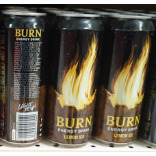 BURN Energy Drink Lemon Ice 12x 500ml Dose (24-48h Lieferzeit)