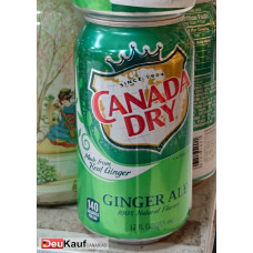 Canada Dry -  Ginger Ale Dose 330ml (USA) (24-48h Lieferzeit)