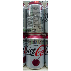 Coca Cola - Diet Coke Cherry 330ml Dose (GB)