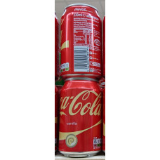 Coca Cola - Vanilla Coke Dose 330ml (GB)