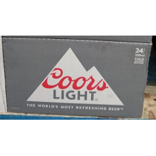 Coors light Beer Bier 24x 330ml Flaschen Karton aus den USA