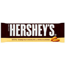 Hershey's - Creamy Milk Chocolate with Whole Almonds 45g (24-48h Lieferzeit)