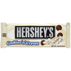 Hershey's - Cookies n Cream white Chocolate Bar 43g (USA) (24-48h Lieferzeit)