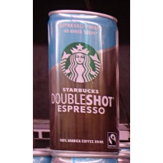 Starbucks - Doubleshot Espresso+Milk no added sugar zuckerfrei 200ml Dose Fertiggetränk (DK) (Kühlware)