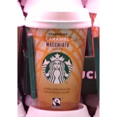 Starbucks - Discoveries Macchiato Caramel Cafe 220ml Becher Fertiggetränk (DK) (Kühlware)