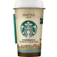 Starbucks - Discoveries Seattle Latte Cafe 220ml Becher Fertiggetränk (DK) (Kühlware)