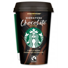 Starbucks - Signature Chocolate Flavour Kakao 220ml Becher Fertiggetränk (DK) (Kühlware)