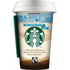 Starbucks - Skinny Latte no added sugar 220ml Becher Fertiggetränk (DK) (Kühlware)