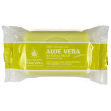 Aloe Excellence - Aloe Vera Glycerine Natural Soap with Olive Oil 100g Folienpackung produziert auf Gran Canaria