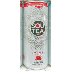 Firgas - Sou Tea No4 Frutas Del Bosque Green Tea Dose 330ml von Gran Canaria