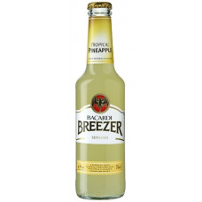 Bacardi Breezer - Tropical Pineapple Ananas Alkopop 275ml (24-48h Lieferzeit)