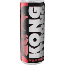Kong Strong Wild Power Urban Classic Energydrink Dose 250ml (rot) (24-48h Lieferzeit)