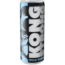 Kong Strong Wild Power Zero Energydrink Dose 250ml (blau) (24-48h Lieferzeit)