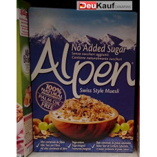 Alpen - Swiss Style Muesli no added sugar 560g (24-48h Lieferzeit)