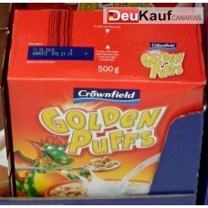 Crownfield - Golden Puffs Cerealien 500g (24-48h Lieferzeit)