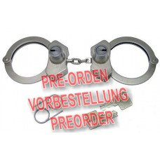 PEERLESS - 702HS Handschellen CUFF-MAXX Kette vernickelt HIGH SECURITY