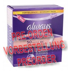Always Freshness Slipeinlagen normal 50Stück