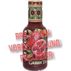 Arizona Green Tea Pomegranate 500ml (D)