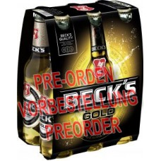 Beck's Gold Bier Glasflasche 6x330ml MW