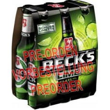 Beck's Lime Bier Glasflasche 6x330ml MW