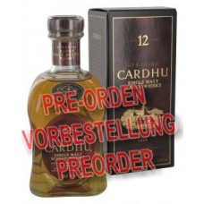 Cardhu 12 Years Single Malt Scotch Whisky 700ml
