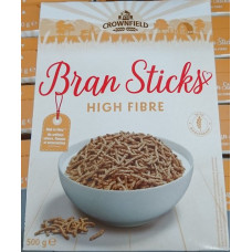 Crownfield - Bran Sticks High Fibre Cereals 500g (24-48h Lieferzeit)