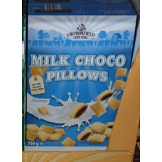 Crownfield - Milk Choco Pillows Kissen Cerealien 750g (24-48h Lieferzeit)