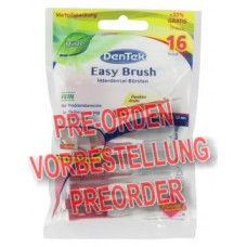 DenTek Easy Brush Interdental-Bürsten fein Minze 12 Stück