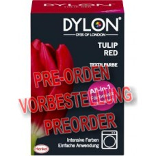 Dylon Textilfarbe Tulip Red 350g