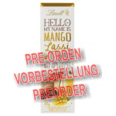 Lindt Hello My Name is Mango-Lassi Tafel 100g