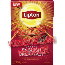 Lipton Black Tea Daring English Breakfast 100g