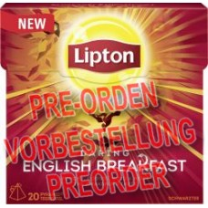 Lipton Black Tea Daring English Breakfast Pyramidenbeutel 36g