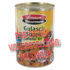 Sonnen Bassermann Gulasch-Suppe Wiener Art 395ml